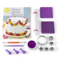 Wilton® How to Decorate with Fondant Shapes and Cut-Outs 16-Piece Kit