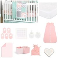 The Peanut Shell™ Medallion Medley 18-Piece Nursery Essentials Set