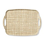 kate spade new york Strawberries Gingham Melamine Serving Tray