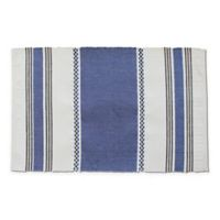 Rue Montmartre Bistrot 100% Cotton Placemats in Blue (Set of 4)