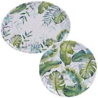Certified International Tropicana 2-Piece Platter Set