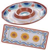 Certified International Vera Cruz 2-Piece Hostess Set