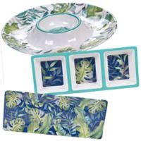 Certified International Tropicana 3-Piece Hostess Serving Set