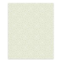A-Street Prints Origin Quatrefoil Wallpaper in Green