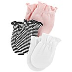 carter's® 3-Pack No-Scratch Mittens in Pink