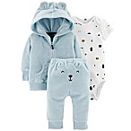 carter's® Newborn 3-Piece Jacket and Pants Set