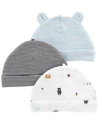 carter's® 3-Pack Bear Hats