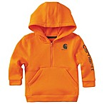 Carhartt® Size 3M Fleece Hoodie in Orange