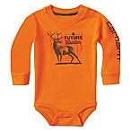 Carhartt® Size 6M Future Hunter Long-Sleeve Bodysuit in Orange