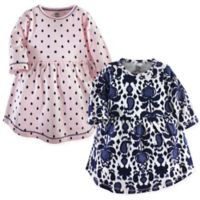 Yoga Sprout Size 9-12M 2-Pack Dot Ikat Dresses