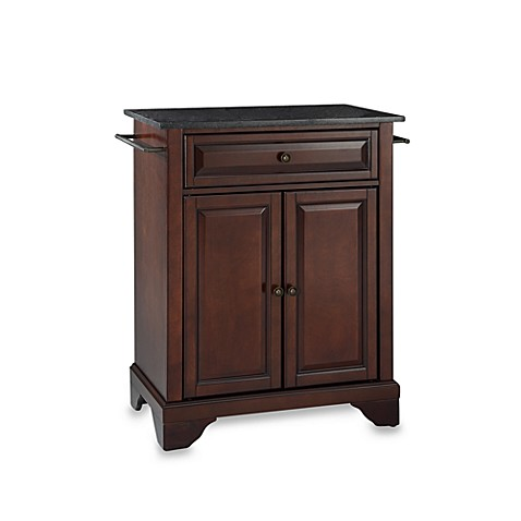 Buy crosley lafayette black granite top portable kitchen for Best place to buy kitchen island