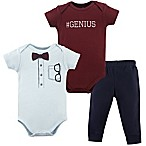 Little Treasure 0-3M 2-Piece Glasses Bodysuit and Pant Set