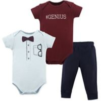Little Treasure 9-12M 2-Piece Glasses Bodysuit and Pant Set