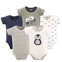 Hudson Baby® 18-24M 5-Pack Chill Dude Bodysuits
