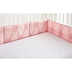 Levtex Baby Willow 4-Piece Crib Bumper Set in Pink