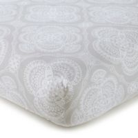 Levtex Baby® Willow Medallion Fitted Crib Sheet in Grey