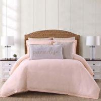 Oceanfront Resort Chambray Coast Twin XL 2 Piece Comforter Set in Blush