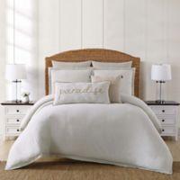Oceanfront Resort Chambray Coast Twin XL 2 Piece Comforter Set in Grey
