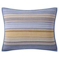 Moon Lake Stripe Standard Pillow Sham
