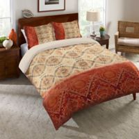 Laural Home® Southwest Medal Twin Comforter in Red