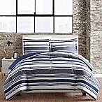 Blue Stripe 3-Piece King Comforter Set