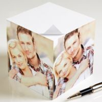 You Picture It Photo Paper Note Cube