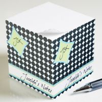 Fancy Notes Paper Note Cube