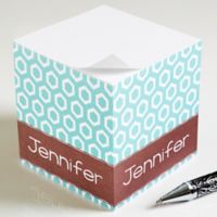 Her Design Paper Note Cube