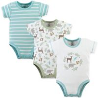 Touched by Nature 12-18M 3-Pack Forest Organic Bodysuits