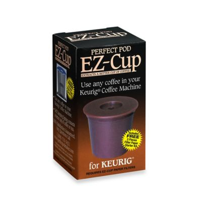 Coffee Makers Sold At Bed Bath And Beyond : Perfect Pod EZ-Cup for Keurig - Bed Bath & Beyond