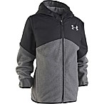 Under Armour® Size 12M Cold Gear Fleece Jacket in Black