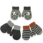 Toby™ Infant 3-Pack Dog Gripper Mittens