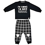 Mini Heroes™ Size 12M 2-Piece Move Mountains Long-Sleeve Shirt and Pant Set