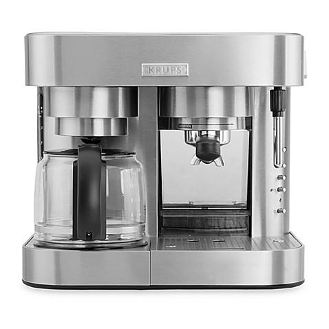 Krups 19 Bar Xp604050 Combination Espresso Coffee Machine