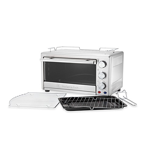 Wolfgang Puck Toaster Oven Broiler With Convection Bed