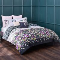 Ted Baker London Entangled Enchantment Reversible Twin Duvet Cover Set in Sky
