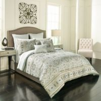 Vue Signature Valencia Reversible Queen Comforter Set in Sage