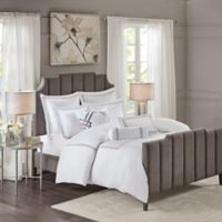 Madison Park Signature Hotel 101 Queen Comforter Set in Grey