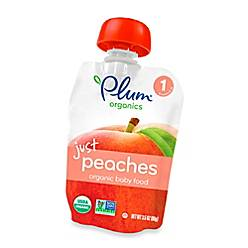 product image for Plum Organics™ Just Fruit Peaches Baby Pouch
