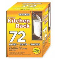 Original Kitchen Rack 5 Gallon 72-Count Refill Bags
