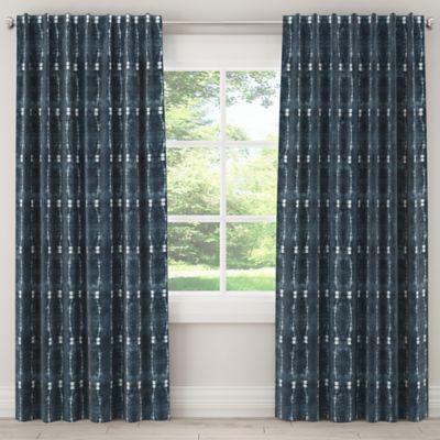 Skyline Furniture Bali 63 Inch Rod Pocket Back Tab Blackout Window Curtain Panel In
