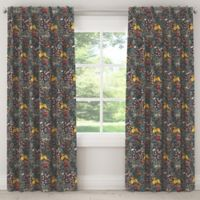 Skyline Furniture Frolic 108-Inch Rod Pocket/Back Tab Window Curtain Panel in Navy