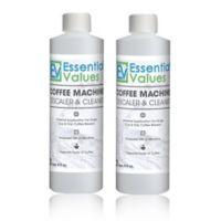 Essential Values 2-Pack Coffee Machine Descaler & Cleaner