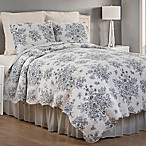 Nelly Onyx Reversible King Quilt Set in Black