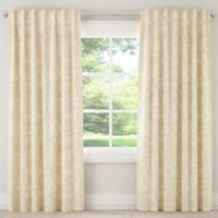 Skyline Furniture Pinata 84-Inch Rod Pocket/Back Tab Window Curtain Panel in Cotton