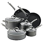 Circulon® Elementum™ Nonstick Hard-Anodized 10-Piece Cookware Set in Oyster Grey