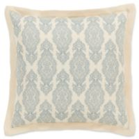 Surya Alia European Pillow Sham in Dark Blue/Ivory