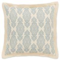 Surya Alia European Pillow Sham in Dark Blue/Ivory