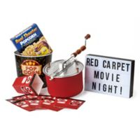 Whirley Pop™ Old Fashioned Popcorn Maker Red Carpet Movie Night Set