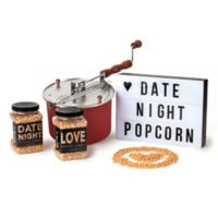 """Wabash Valley Farms™ 4-Piece """"Date Night"""" Say It In Lights Red Whirley-Pop Gift Set"""